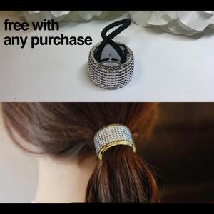 Free with Any Purchase ❤️ NWOT Ponytail Holder